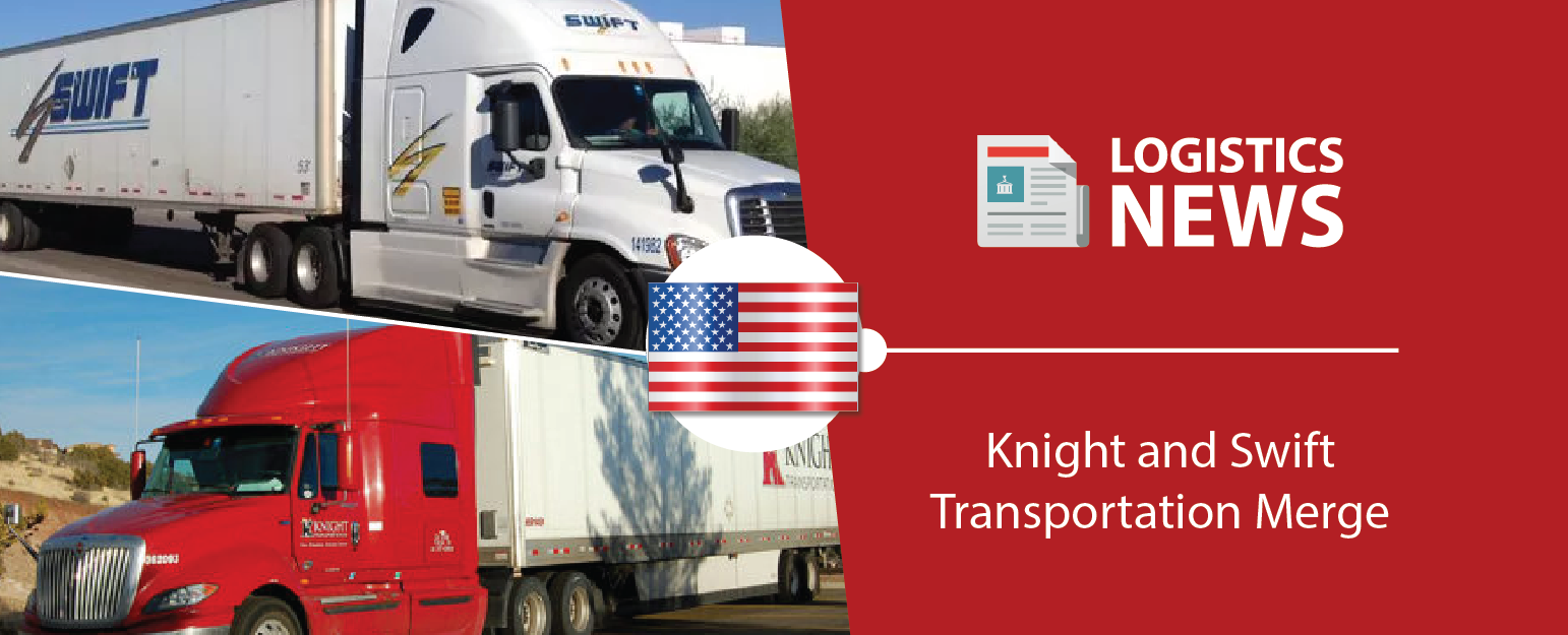 U s trucking companies knight transportation and swift transportation have agreed to merge in an all stock deal that gives the combined company an